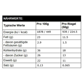 High5 ProteinHit Riegel Box Coconut-Lemon-Raspberry 15 x 50g